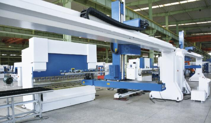 CNC Sheet Bending Flexible Processing Unit Gantry Robot Type